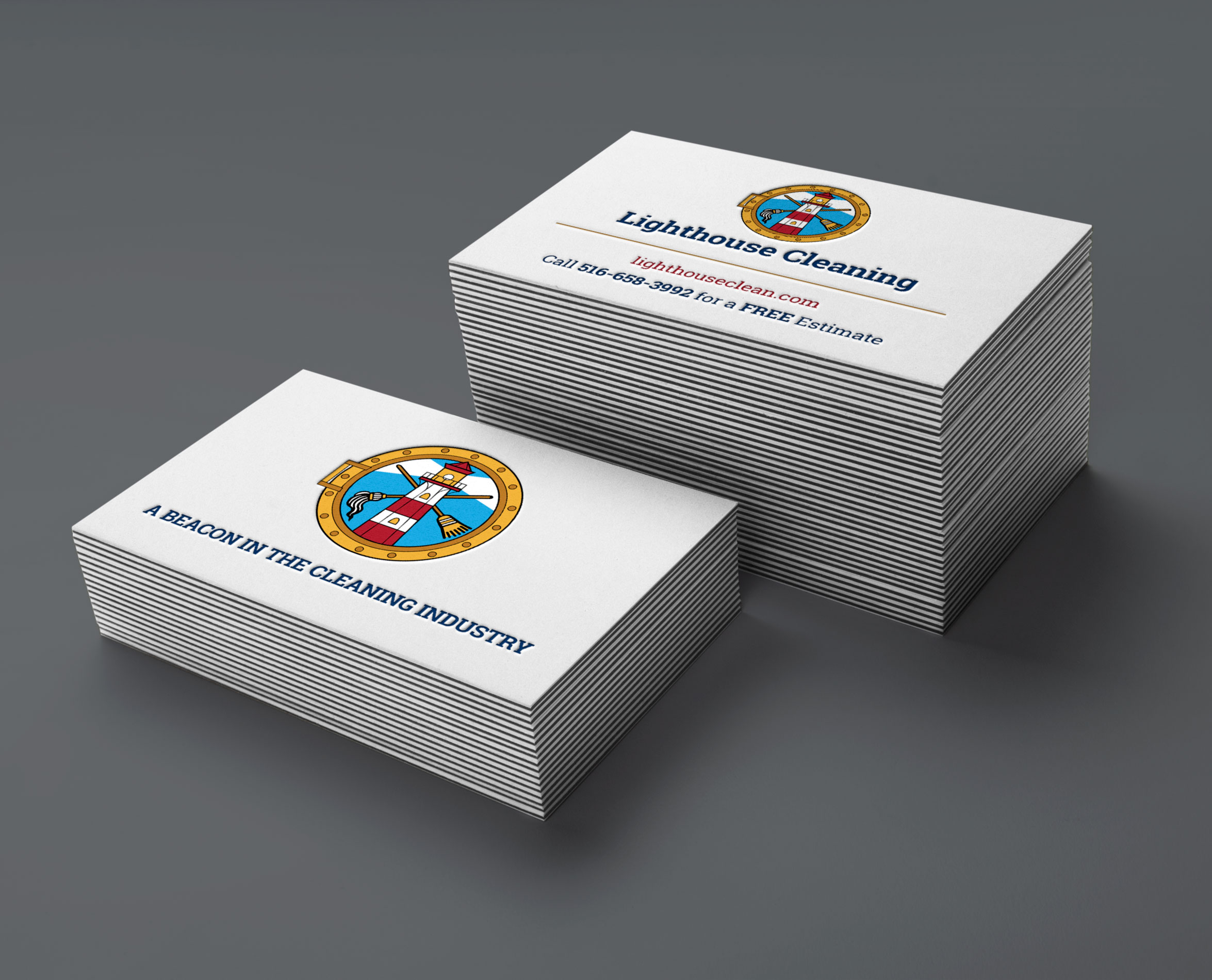 lighthouse-cleaning-business-cards