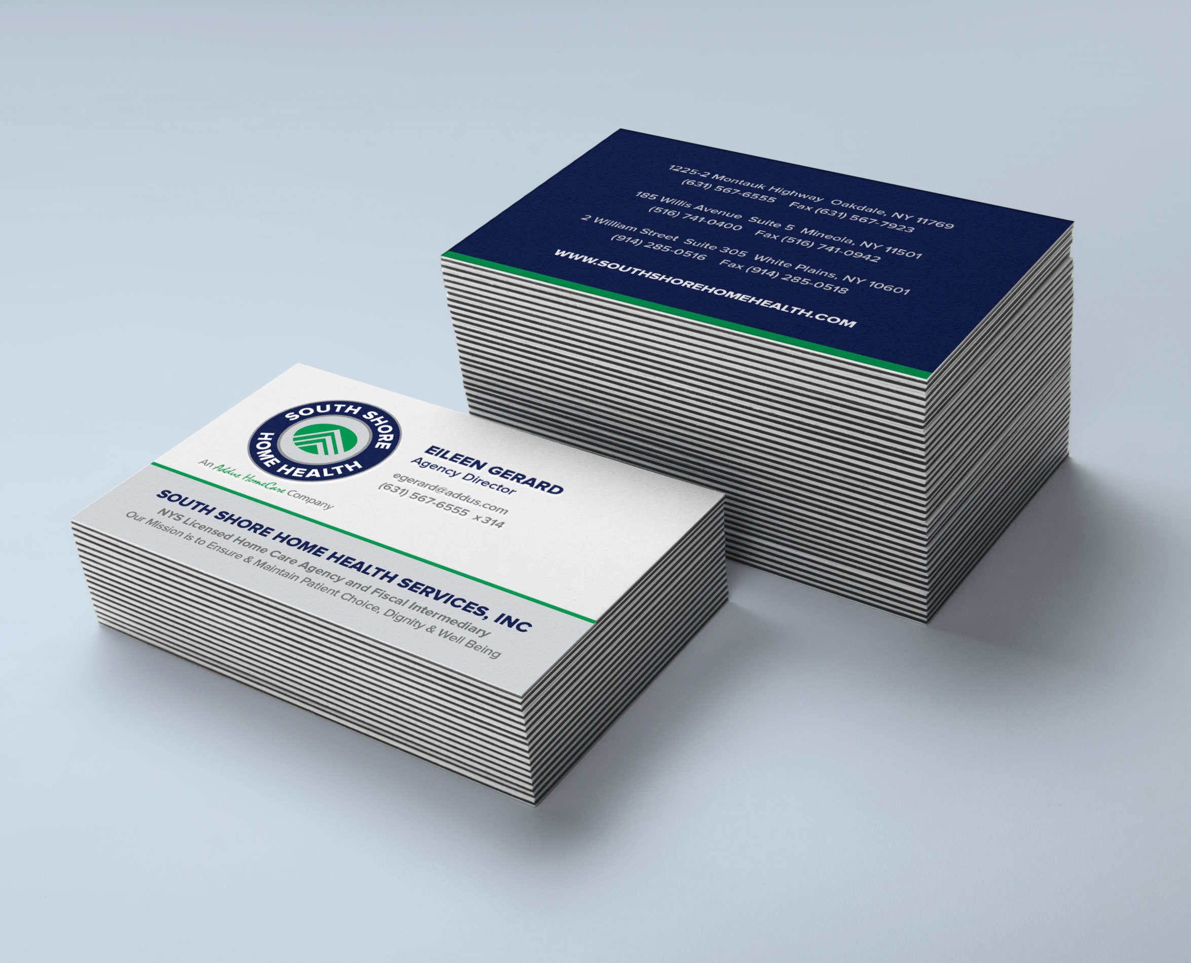 south-shore-home-health-business-cards